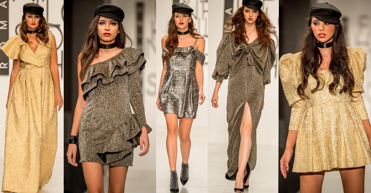 Colectie rochii din lame Ana Maria Cornea