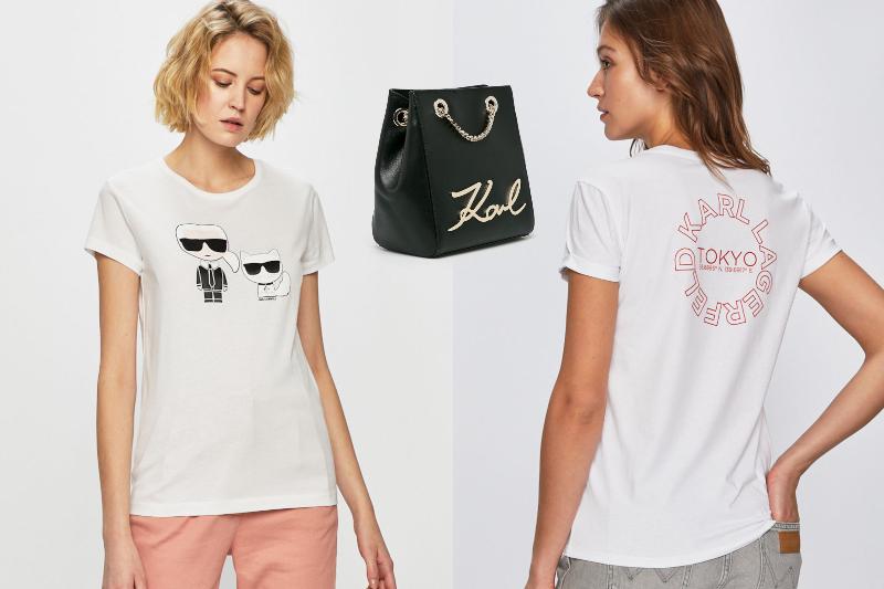 Tricouri Karl Lagerfeld
