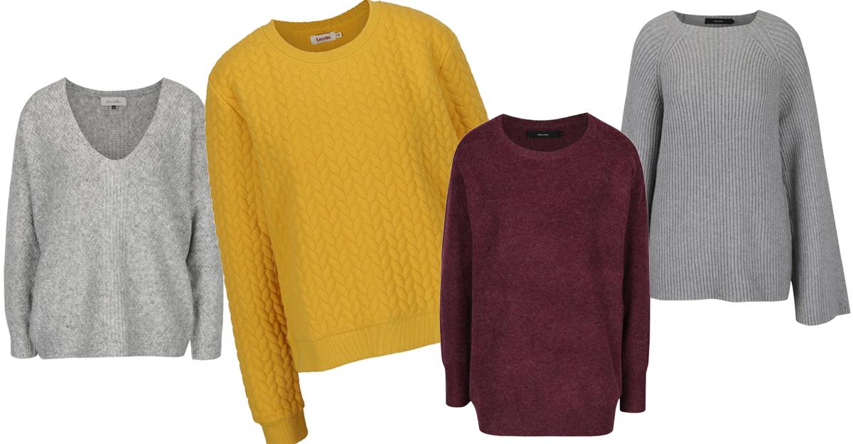 Alege pulovere oversize