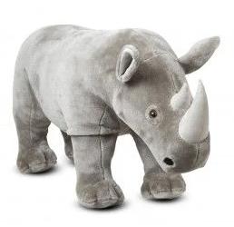 jucarii gigant din plus rinocerul urias