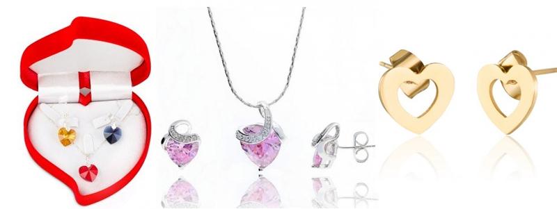 Cadouri de Valentine's Day: Bijuterii in forma de inima