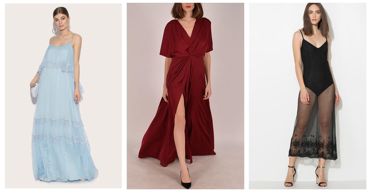 Cum porti rochia lunga in tinuta de zi