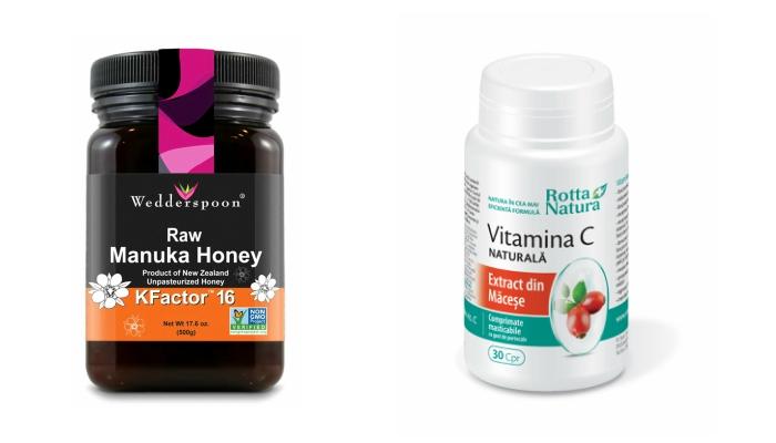 Miere de Manuka Vitamina C