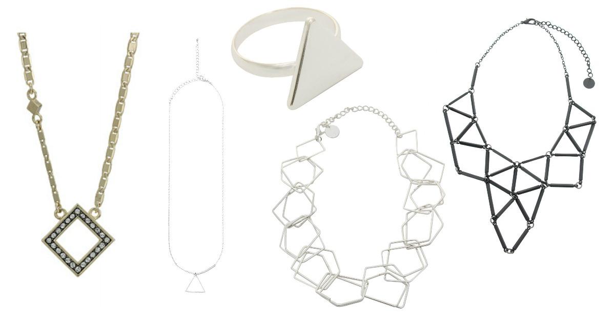 Bijuterii cu figuri geometrice