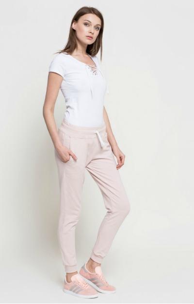 Pantaloni sport roz