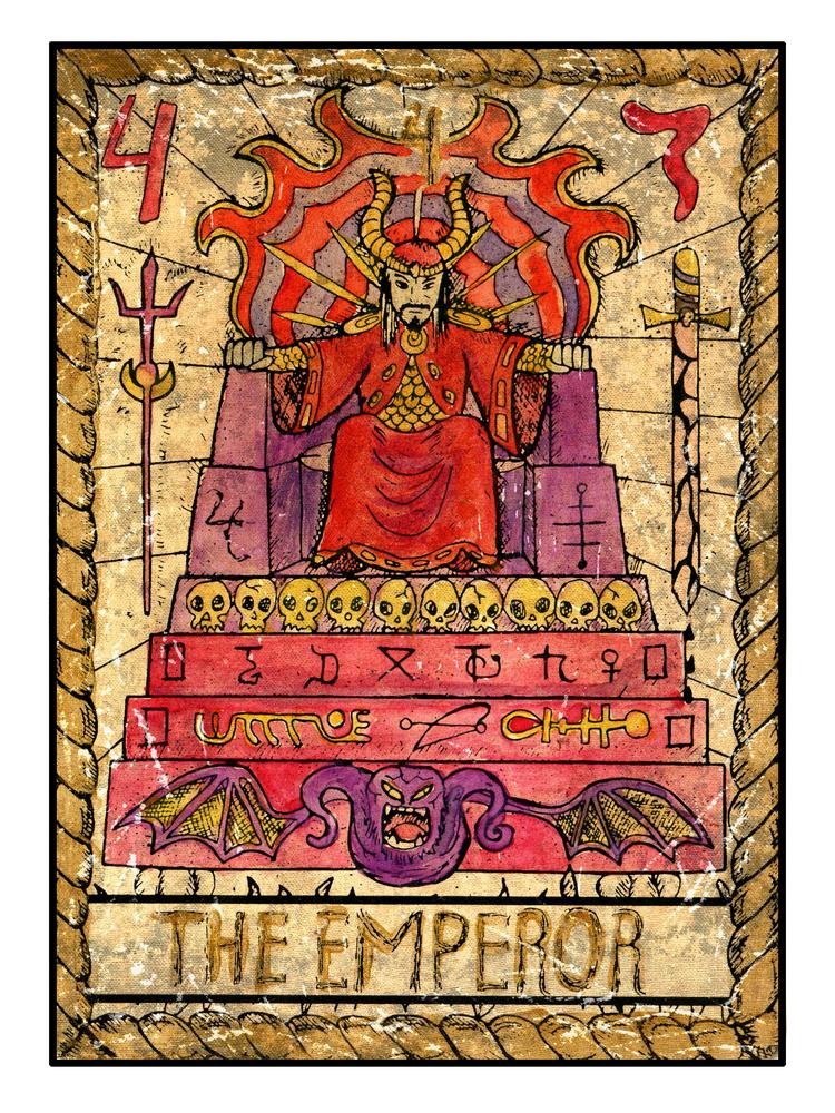 taroscop berbec: cartea maestra din arcana majora tarot este Imparatul