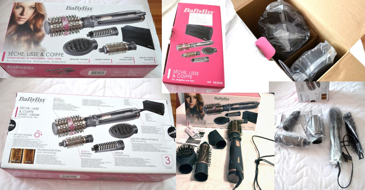 Perie rotativa BaByliss BeLiss AS250E review si pareri cu foto