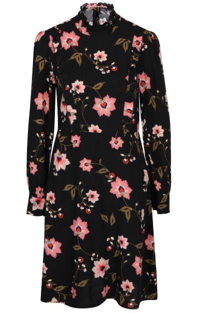 Rochie vintage cu imprimeu floral