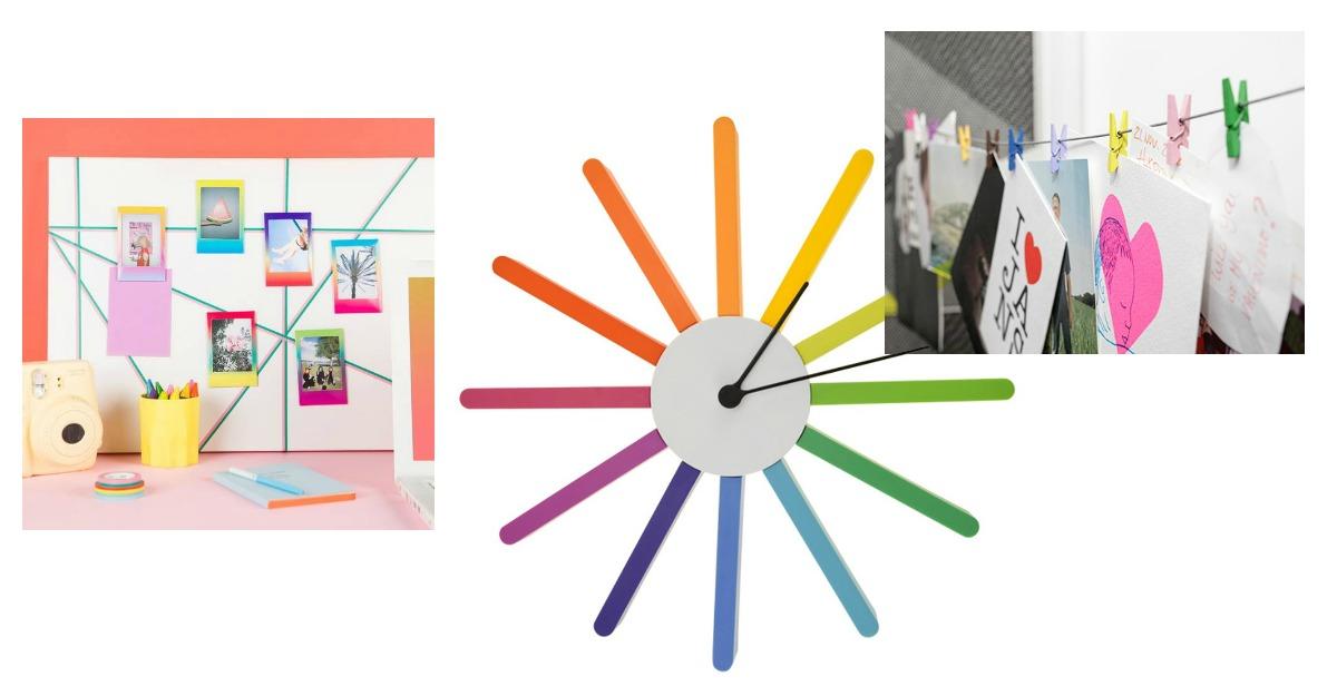 Accesorii si decoratiuni colorate