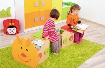 mobilier camera copilului modular tip omida