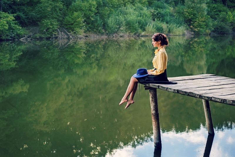 contemplatie in natura