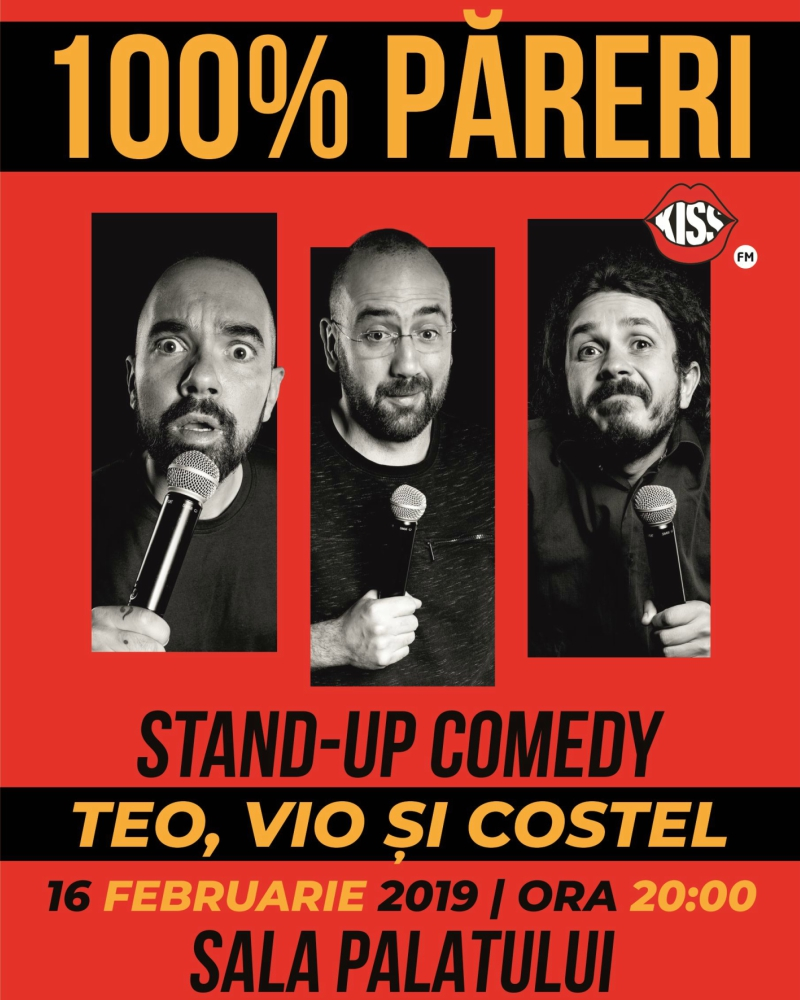 Stand Up Teo Vio si Costel