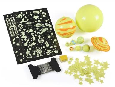 set sistem solar fluorescent pentru copii idei de jucarii si cadouri