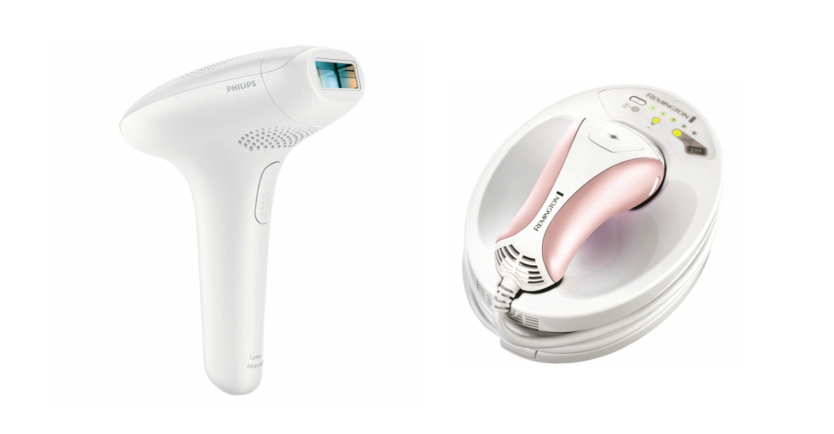 Epilatoare IPL Remington si Philips