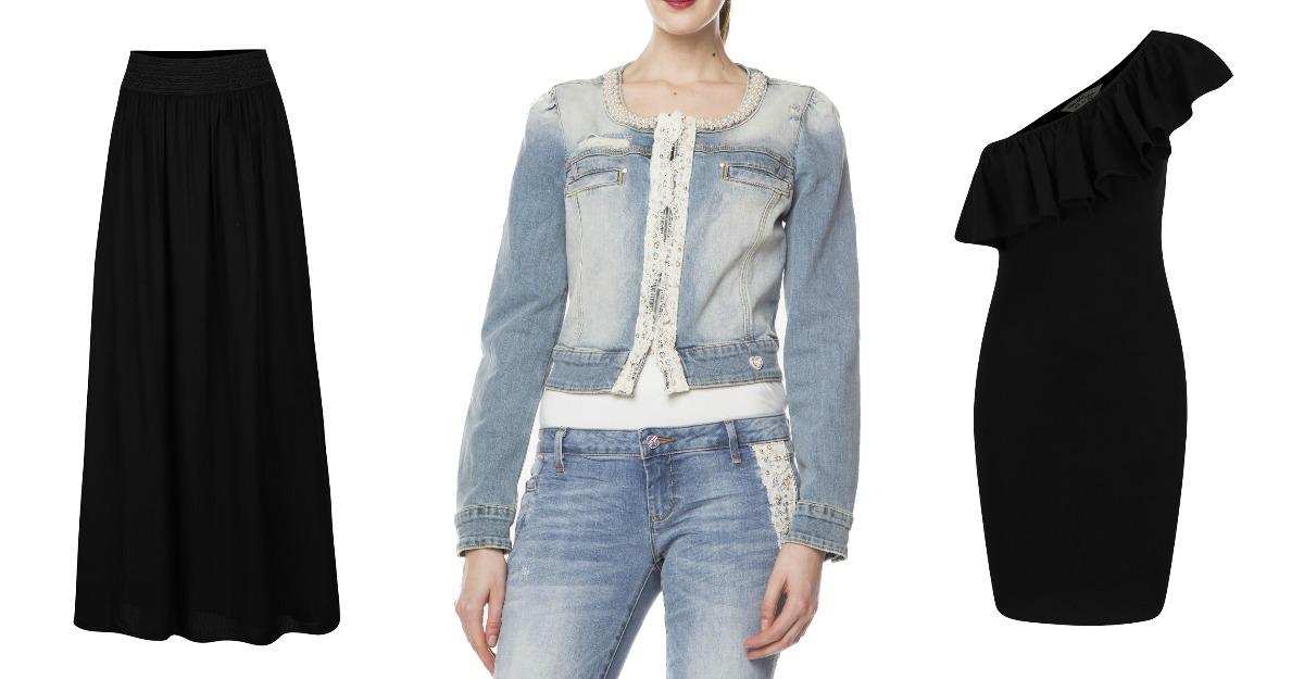 Jachete din denim cu aplicatii din margele